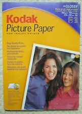 KODAK - A4 Glossy Picture Paper For Inkjet Printers - 25 Sheets - New & Sealed