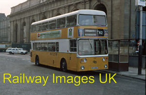 Bus Photo - Tyne and Wear PTE bus stands outside Newcastle Centra