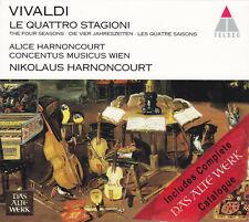 Vivaldi CD *Vier Jahreszeiten / Quattro Stagioni / Four Seasons* Harnoncourt