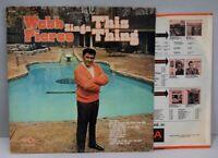 "Webb Pierce LP, ""This Thing"", Decca Records, DL-75132, Vinyl, VG+/VG+, R-0091"