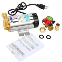 Stainless Automatic Shower Washing Machine Water Booster Pump Continuous Motor
