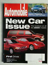 Automobile Magazine 9/1999 mit Aston Martin DB 7 Vantage Toyota Celica GT-S
