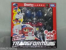 Takara Tomy Transformers Disney Label Mickey Mouse Original Japan Figure RARE