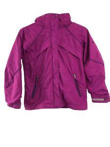 COLUMBIA Girls Small S(7-8) Interchange hooded Snowboard/snow Jacket