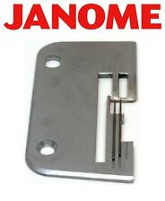 Needle Plate for Janome My Lock Overlocker 434D, 404D, Two Feed Dog Slots Serger