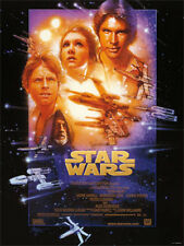 Star Wars A New Hope Single 22x34 poster Lucas Vader Leia Skywalker New Disney!!