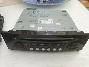 Peugeot RCZ 2010 To 2012 Radio CD Player Head Unit 96784958XN
