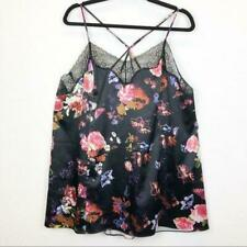 Cacique Women's Size 14/16 Stunningly Sexy Floral Silky Camisole