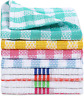 8 Pieces Kitchen Dish Cloths Dish Rags Cotton Fabric Absorbent Cleaning Cloth Di