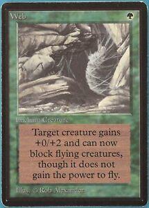 Web Beta PLD Green Rare MAGIC THE GATHERING MTG CARD (ID# 174093) ABUGames