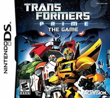 Transformers Prime The Game DS - LN