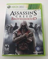 Assassin's Creed: Brotherhood (Microsoft Xbox 360, 2010) Complete Tested Working
