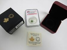 2014 Canada Majestic Maple Leaves With Jade NGC PF70 ULTRA UCAM ER $20