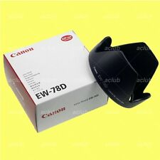 Genuine Canon EW-78D Lens Hood EF 28-200mm f/3.5-5.6 USM EF-S 18-200mm f/3.5-5.6