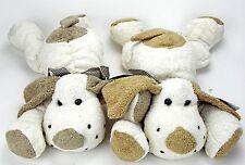 3 Stück Plüsch Hund Stofftier Kuscheltier Plüschtier NEU