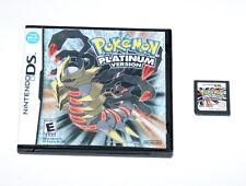 Pokemon Platinum Version Nintendo DS Video Game 2009 World Battle Challenge