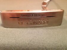 BETTINARDI  RJB  BB1 SHORT SLANT  PUTTER HONEYCOMB SATIN NICKEL SUPER CLEAN !