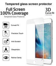 3D courbe complet Housse blanc protection d'écran verre trempé pour Nouveau iPhone 8 Plus