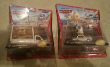 Brand New Disney Pixar Cars Deluxe The Popemobile + Pope Pinion IV Set Lot 24 hr