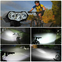 Powerful Rechargeable 12000LM LED Head Mountain Bike Bicycle Lamp Front Light AU