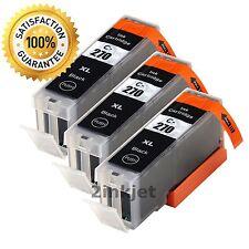 3PK PGI-270 XL Black Ink Cartridges for Canon PIXMA MG5720 MG5722 MG6820 MG6821