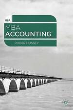 MBA Accounting by Roger Hussey (Paperback, 2014)