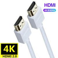 1.2m HDMI Cable High Speed HDMI Version 2.0 Lead HDTV UHD 4K 2160p 4K@60hz 3D
