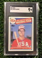 1985 TOPPS MARK MCGWIRE #401 SGC 9 USA Team DEAD CENTERED (PSA 10 Crossover?)