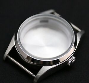 Explorer style watch case for MIYOTA 8215 8205 - ETA 2824-2836 sapphire crystal