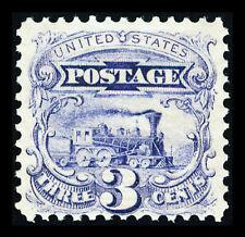 US #114var; 3¢ PICTORIAL ISSUE -SPLIT GRILL, F/VF-OG-NH, PF CERTIFICATE, CV $750