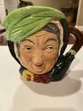 Vintage Royal Doulton Sairey Gamp Toby Mug Marked A D.5451
