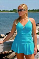 Women Sexy One-piece Swimsuit Bikini Dress Fashion Swimwear Bralette Plus Size