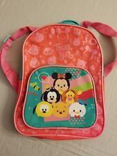 Disney Tsum Tsum Pink Small Backpack FREE SHIPPING