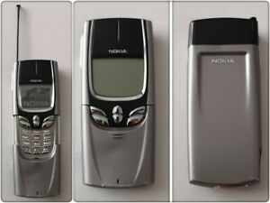 Nokia 8890 (NSB-6NY) Mobile Phone (Giffgaff, O2, Tesco and Vodafone).