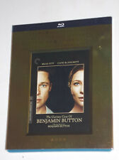 CRITERION  Curious Case of Benjamin Button Blu-ray  Rare SLIPCOVER Brad Pitt