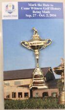 "2016 RYDER CUP Trophy  (HAZELTINE) LAPEL PIN 2"""