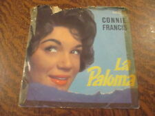 45 tours connie francis when the boy in your arms