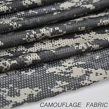 "ACU Digital Camo Camouflage Net Cover Army Military 60""W Mesh Fabric Cloth"
