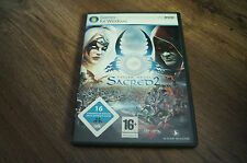 pc dvd game  fallen angel sacred2 sacred 2 2008 deutch language version
