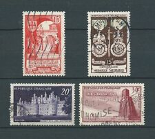 FRANCE - 1952 YT 924 à 927 - TIMBRES OBL. / USED