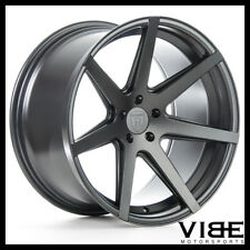 "19"" ROHANA RC7 GRAPHITE CONCAVE WHEELS RIMS FITS INFINTI G35 SEDAN"