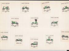 Belle série étiquette allumettes Belgique  BN122328 Ancienne voiture 1