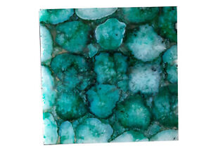 Table Top Custom Top Handmade Side Table top Kitchen Slab Green Agate Table Art
