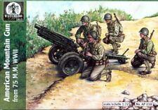 Waterloo 1815 1/72 WWII 75mm American Mountain Gun # AP038