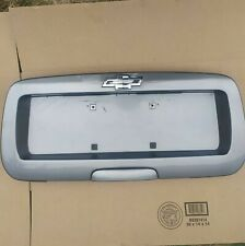 🔥02-09 Chevy TrailBlazer GMC Envoy Rear Trunk License Plate Panel w Logo SILVER