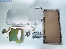 Ls Swap Retrofit Aluminum Oil Pan Ls1 Ls2 Ls3 Ls6 Rear Sump, Pick Up, Gasket