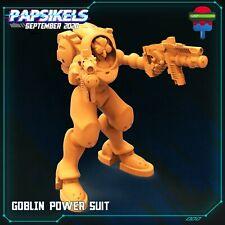 "Cyberpunk ""Goblin Power Suit"" Papsikels   28mm-35mm   DnD   Tabletop   Boneshop"