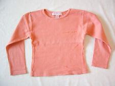 Tee-shirt à manches longues orange 5 ans ORCHESTRA
