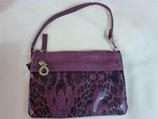 NWT Style & Company Baguette Purse Faux Blackberry Purple Faux Leather