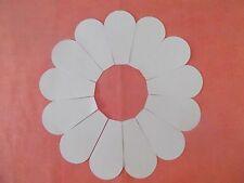 52 Dresden Plate Plantillas Para Patchwork-Papel-nueva forma - 3 Pulgadas De Placas